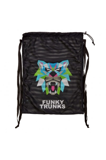 FUNKY TRUNKS PREDATOR GEO MESH BAG