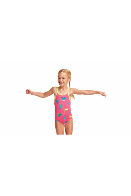FUNKITA DANCING DINO TODDLER GILRS ONE PIECE