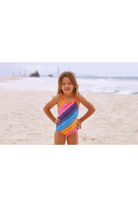FUNKITA FINE LINES TODDLER GIRLS SWIMWEAR