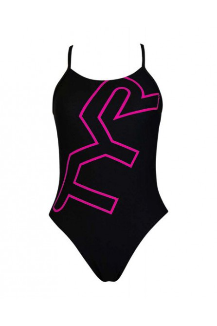 TYR BIG LOGO CUTOUTFIT WOMEN SWIMWEAR
